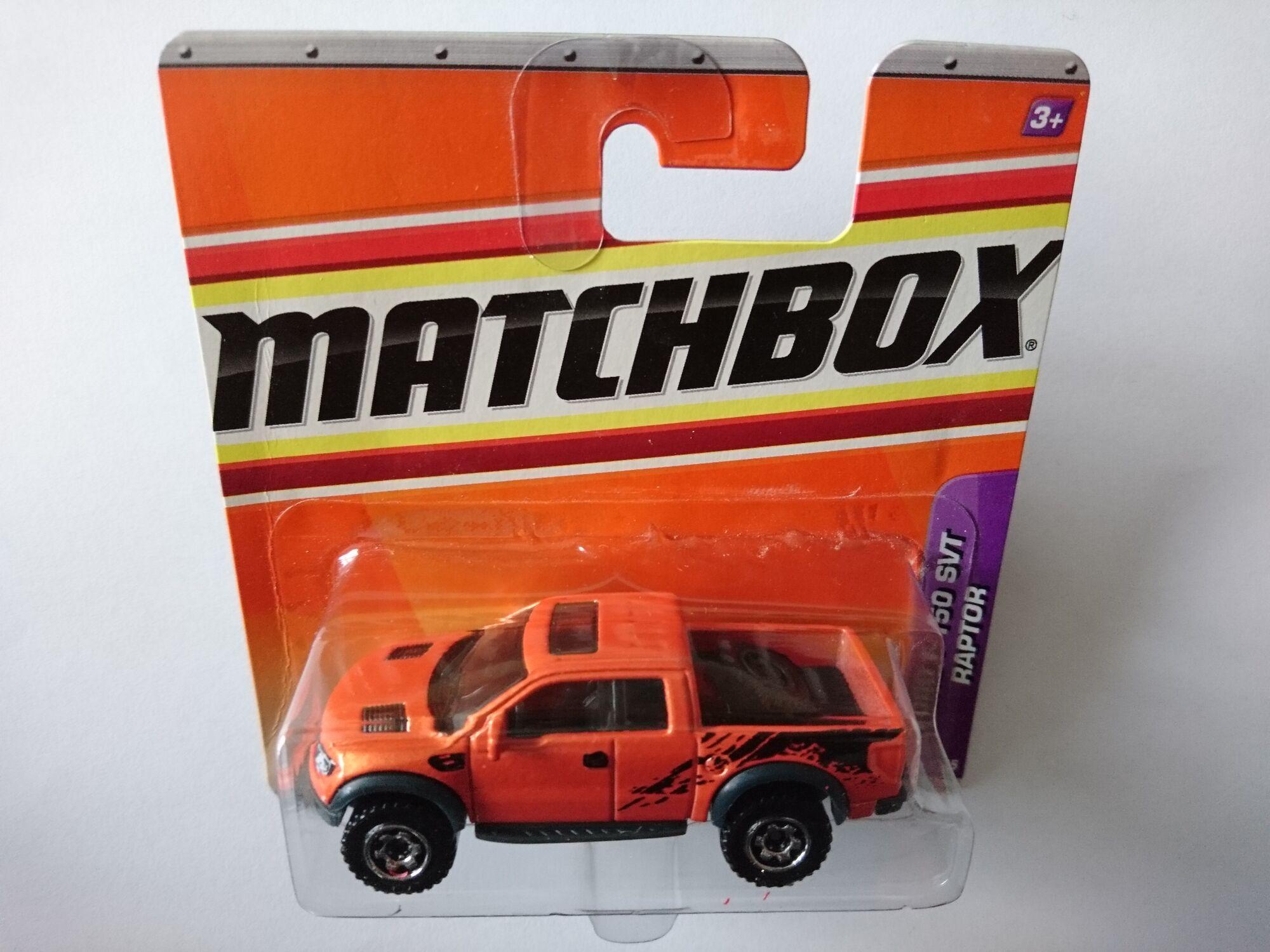 2012 Matchbox FORD F-150 SVT RAPTOR MBX Artic 7//10