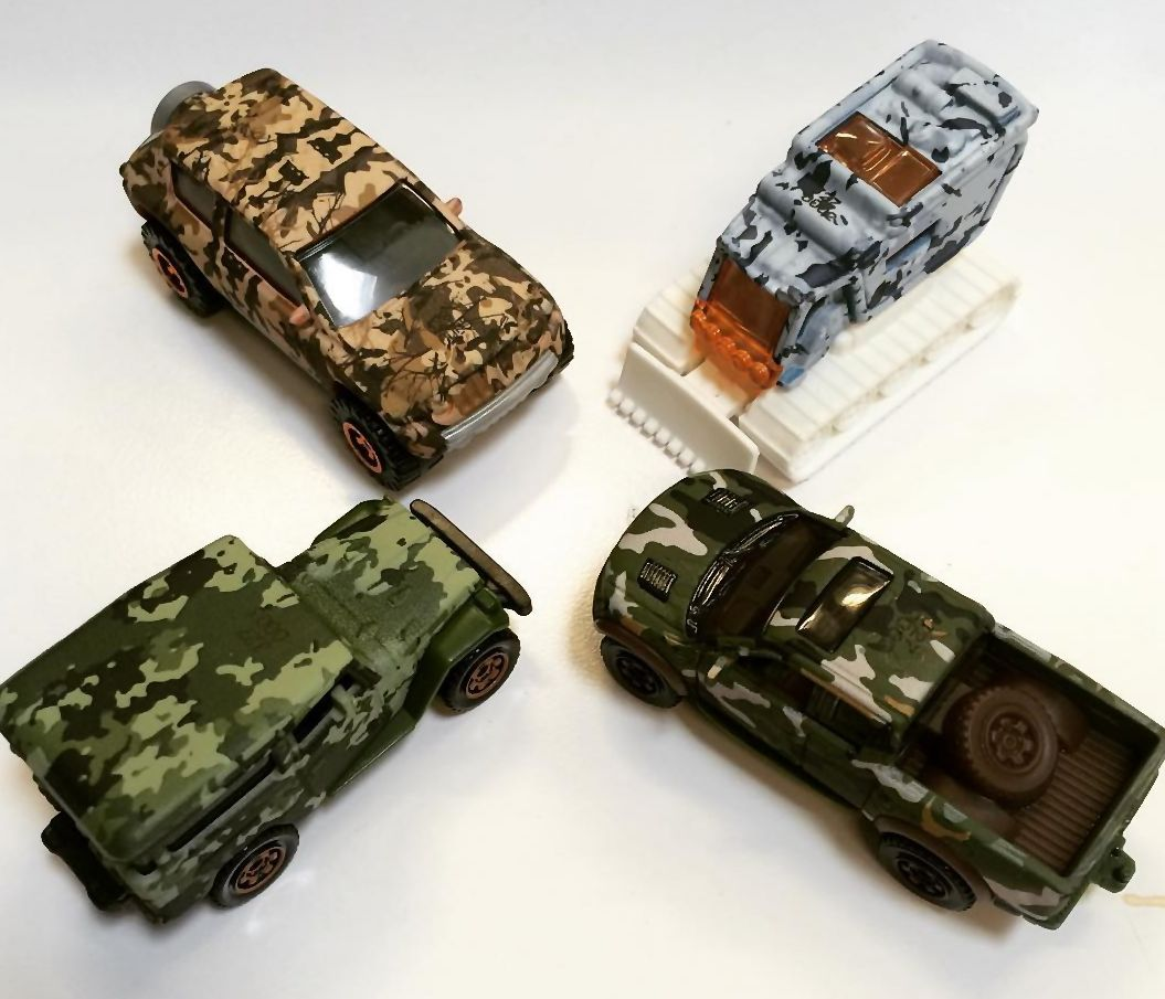 Matchbox Camouflage Series 2017