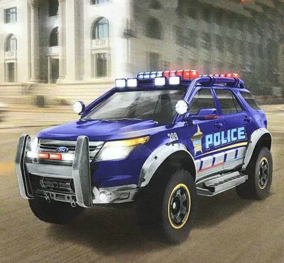 Ford Explorer Interceptor