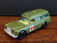 MB03 Mercedes-Benz Binz Ambulance - Superfast wheels - olive green