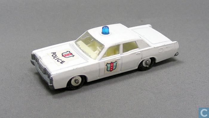 Mercury Park Lane Police Car