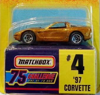 #4 /'97 Corvette Matchbox Red 1-75