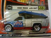 50th Ford Truck with Raft