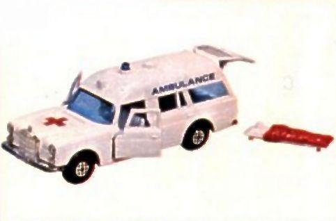 Mercedes Benz Ambulance (K6 K-26 K-63)
