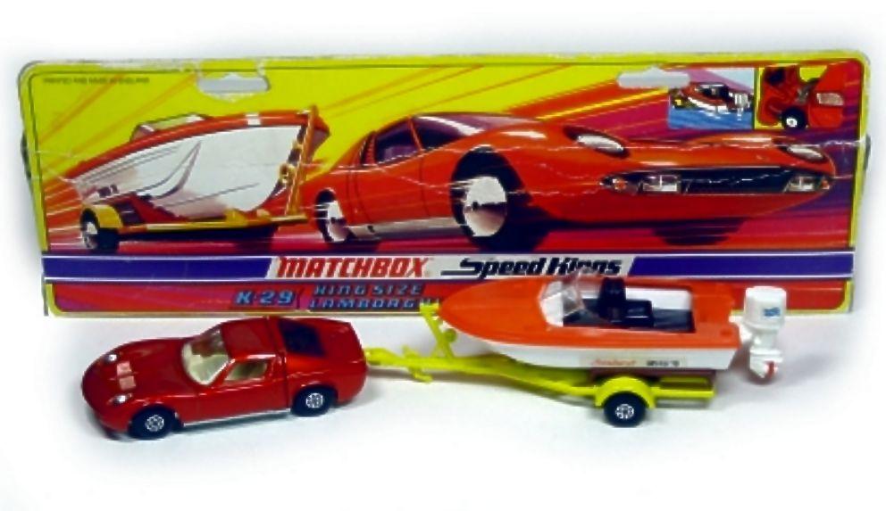 Lamborghini Miura-Boat & Trailer (K-29)