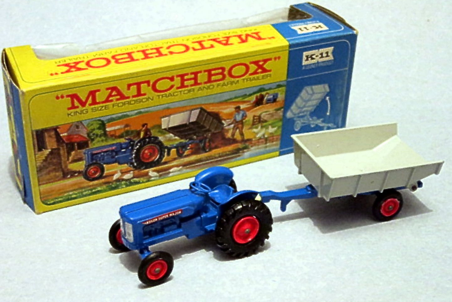 Fordson Tractor & Whitlock Trailer (K-11)