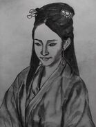 Li Qingzhao portrait sketch2