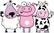 Cow+sheep+pig