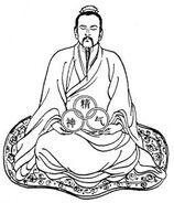 Daoist alchemist