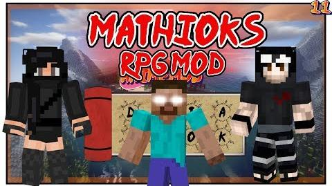 Mathioks RPG Mod + Easter Event Conclusion! - NARUTO ANIME MOD - Minecraft - DATABOOKS Episode 11