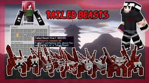 Tailed Beasts! Part 1 - NARUTO ANIME MOD - Minecraft - DATABOOKS Episode 13