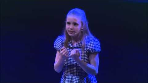 """Jade Marner performing """"Quiet"""" from Matilda the Musical"""