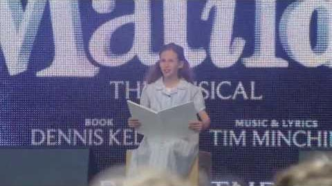 Matilda @ West End Live 2013 - Naughty