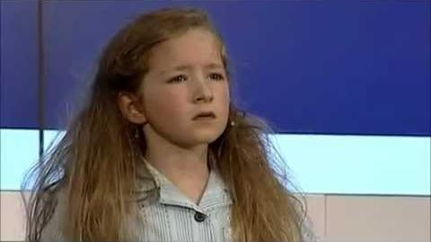 Matilda girl (Hayley) singing Quiet