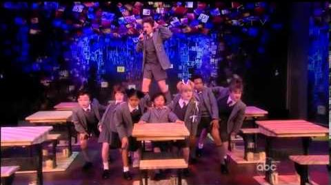 """MATILDA THE MUSICAL (Broadway) - """"Naughty"""" """"Revolting Children"""" LIVE @ The View"""