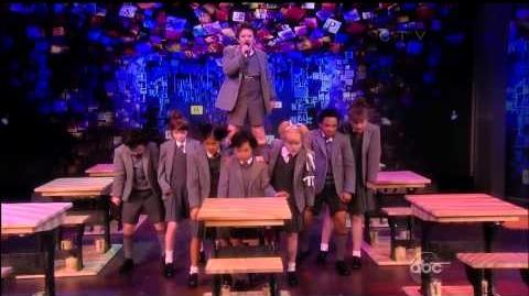 Cast of Broadway's Matilda the Musical Performs on The View-0