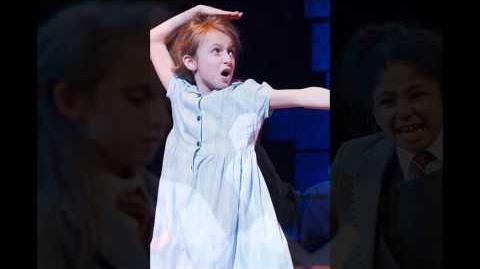 Lara Wollington - Naughty (Matilda the Musical) on BBC Radio 2
