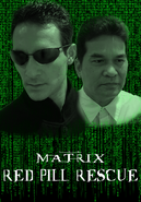 Matrix Red Pill Rescue Poster