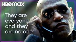 Morpheus Explains The Matrix HBO Max