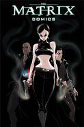The Matrix Comics 20th Anniversary Edition Trinity Cover
