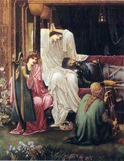 Edward Burne-Jones.The last sleep of Arthur.jpg