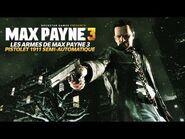 Les Armes de Max Payne 3 - Pistolet 1911 Semi Automatique