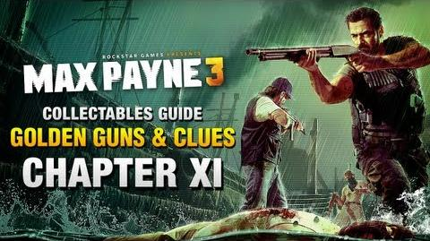 Max Payne 3 - Collectables Guide - Chapter 11 Golden Guns & Clues