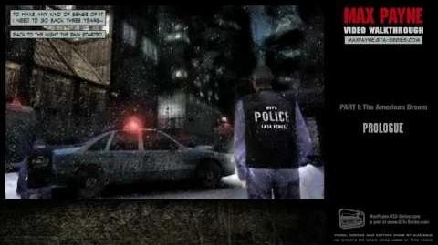 Max Payne - The American Dream - Prologue (HD)