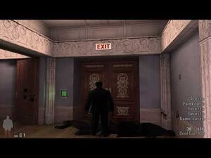 Max Payne (2001) - Byzantine Power Game -4K 60FPS-