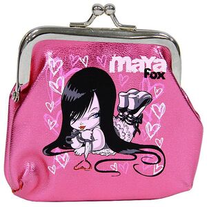 Rainbow-Maya-Fox-pink-coin-purse