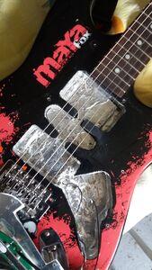 Rainbow-Maya-Fox-Eko-electric-guitar-closeup