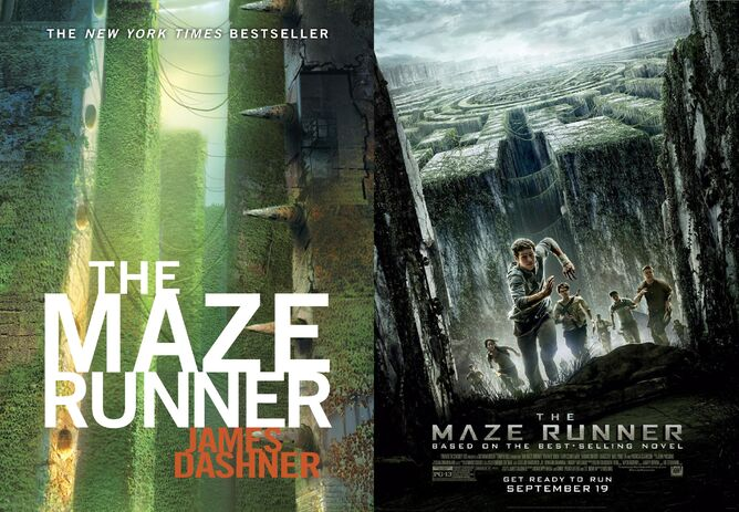 Maze Runner Book Cover and Movie Poster.jpg