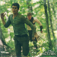 Mazerunner thomas running