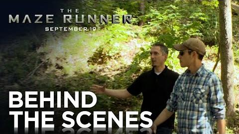 "The Maze Runner ""Dashner Walk & Talk"" Featurette HD 20th Century FOX"