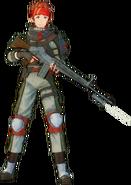 Klein Fatal Bullet alternative character design
