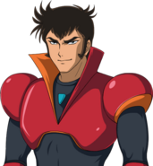 Super Robot Wars T Character Face Portrait 1307