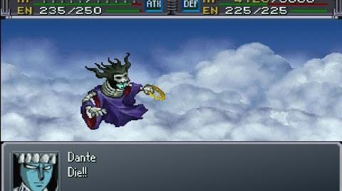 Super Robot Wars Alpha Gaiden - Dante Attacks