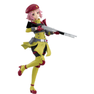 Lisbeth(GGO) Fatal Bullet alternative character design(Figure Only)