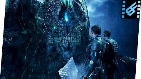 Gipsy Danger vs Leatherback Pacific Rim (2013) Movie Clip