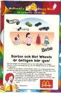 Barbie & Hot Wheels 1997 001