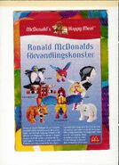 Ronald McDonald förvandla sig