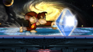 Giant Punch hitting Nayruls Love, but not harming Zelda or being canceled out