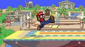 Mario's standard attack.