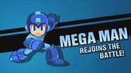 Splash screen - Mega Man