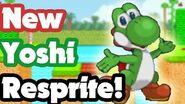 Yoshi Resprite for SSF2 Beta showed at Smashcon 2017!