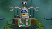 Giga-Robo stomping