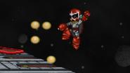 Proto Man uses Proto Buster