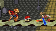 Red Shell in SSF2