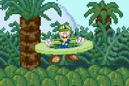 SSF Luigi down aerial