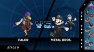 Falco vs Metal Bros